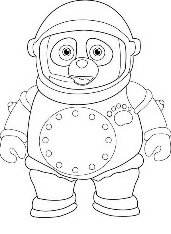 Special coloring pages ~ Awesome Special Agent Oso Coloring Page - Download & Print ...