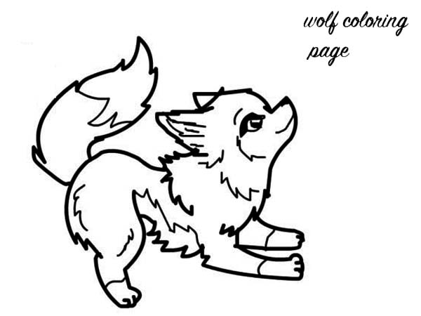 baby wolf coloring pages Baby Wolf Coloring Page   Download & Print Online Coloring Pages  baby wolf coloring pages