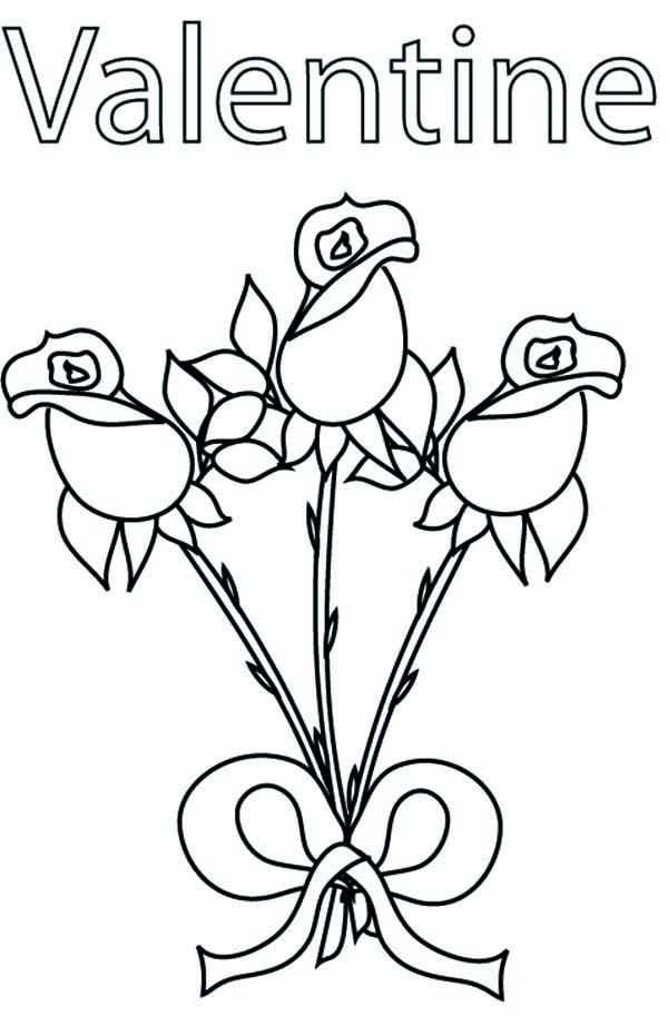 beautiful free valentines coloring pages - photo#17