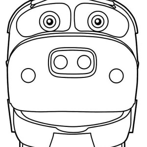 Brewster From Chuggington Coloring Page