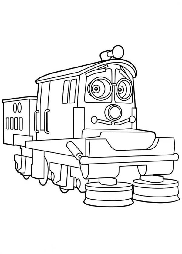 Chuggington coloring pages online ~ Calley From Chuggington Coloring Page - Download & Print ...