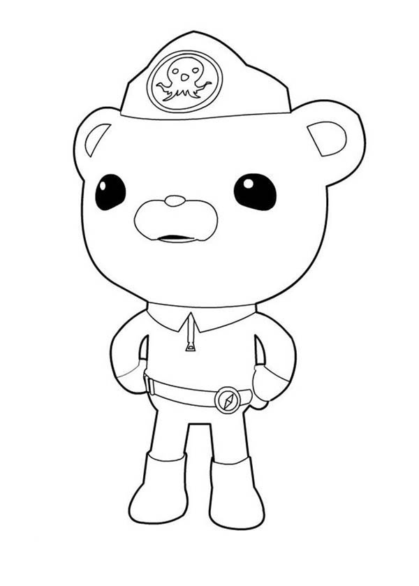 - Captain Barnacles Standing In The Octonauts Coloring Page - Download &  Print Online Coloring Pages For Free Color Nimbus