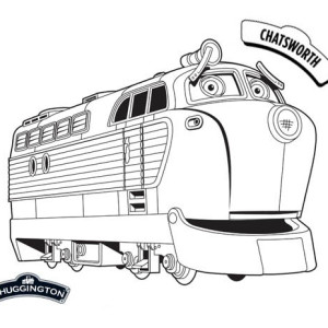 Chatsworth From Chuggington Coloring Page