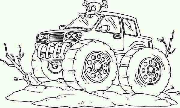 crazy car coloring pages - photo#11