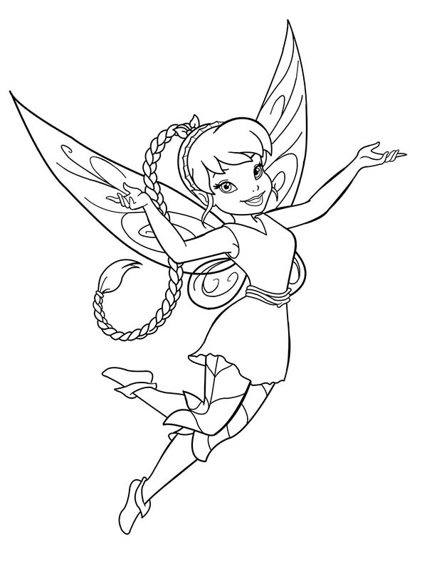 Disney Fairies Fawn Coloring Page Download Print Online