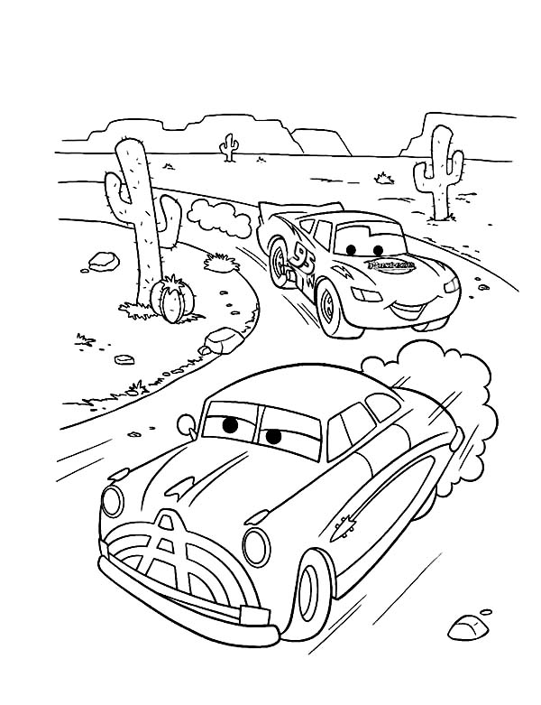 Cars to color for children - Cars Kids Coloring Pages | 781x600