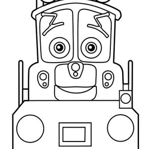 Dunbar From Chuggington Coloring Page