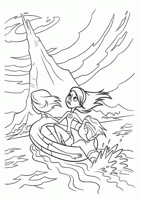 Elastigirl Became Boat In The Incredibles