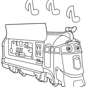 Frostini From Chuggington Coloring Page