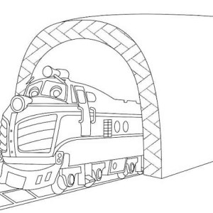 Harrison From Chuggington Coloring Page