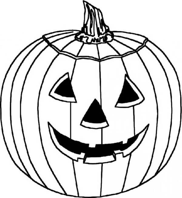Hideous Pumpkins Coloring Page - Download & Print Online ...