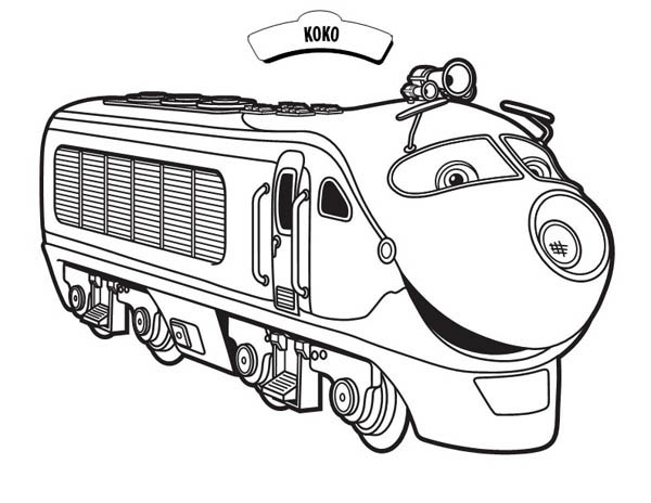 Koko From Chuggington Coloring Page Download Print