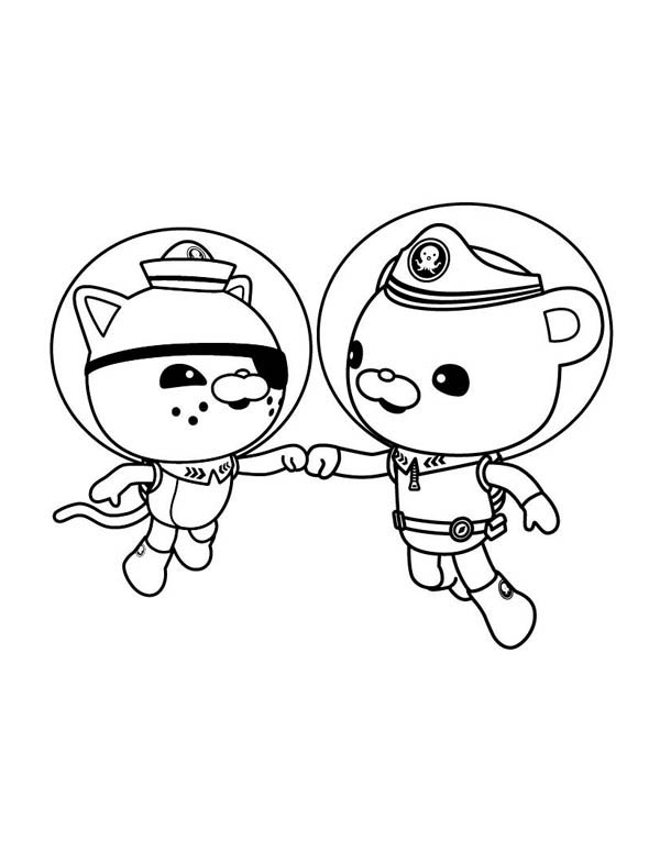 octonauts gup x coloring pages - photo#40