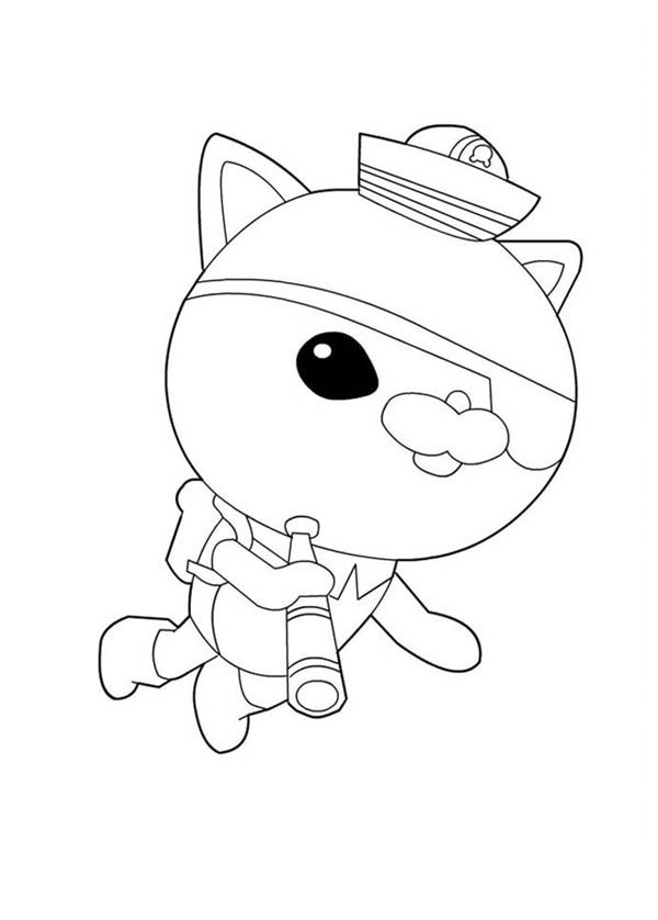 Kwazii From The Octonauts Exploring The Sea Coloring Page Download Print Online Coloring Pages For Free Color Nimbus