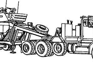 Mercedes Dump Truck In Semi Truck Coloring Page Download Print