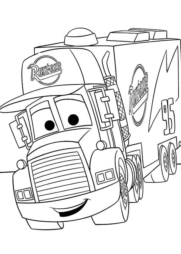 Disneys Cars Coloring Pages in 2020 | Race car coloring pages ... | 840x600