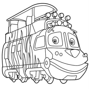 Mtambo From Chuggington Coloring Page