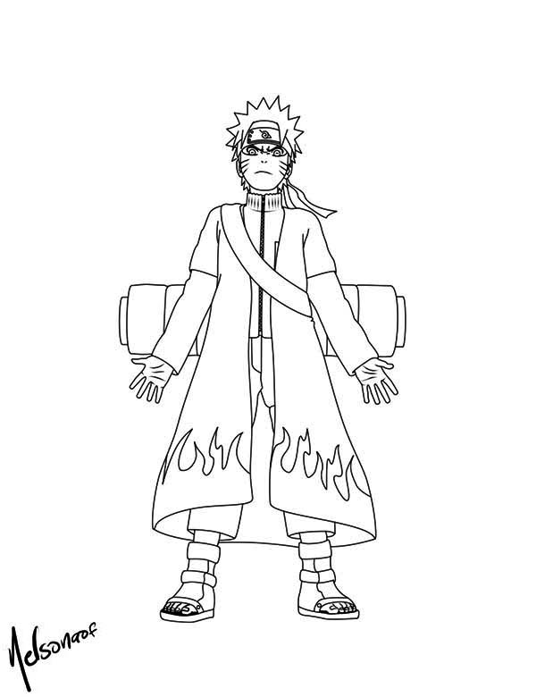 Download Boruto Coloring Pages - Naruto - Full Size PNG Image - PNGkit | 780x600