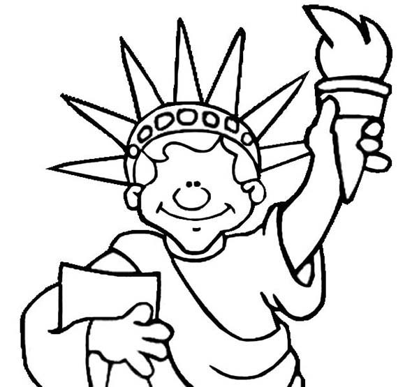 coloring pages liberty - photo#31