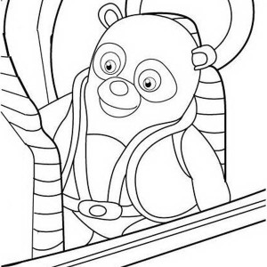 New Mission Special Agent Oso Coloring Page