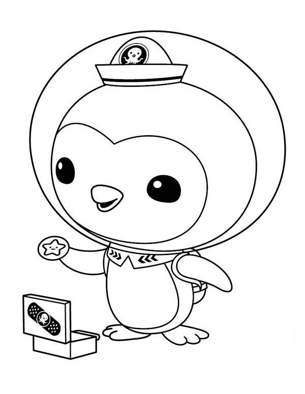 - Peso Penguin Opening His Medical Kit In The Octonauts Coloring Page -  Download & Print Online Coloring Pages For Free Color Nimbus