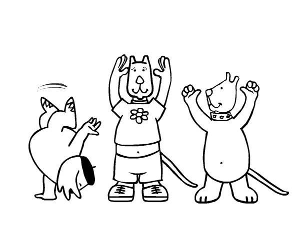 Uneven Bars Artistic Gymnastics coloring page | Free Printable ... | 467x600