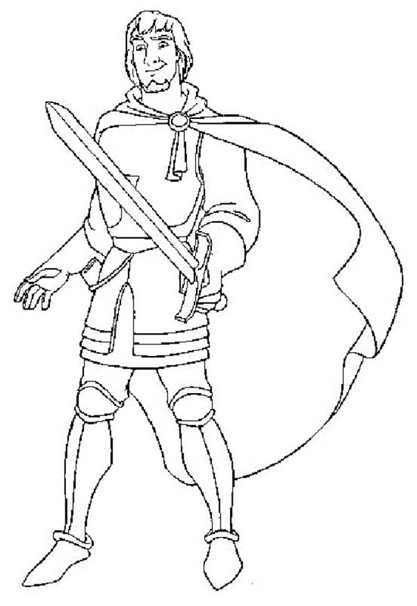 Phoebus Draw His Sword In The Hunchback Of Notre Dame