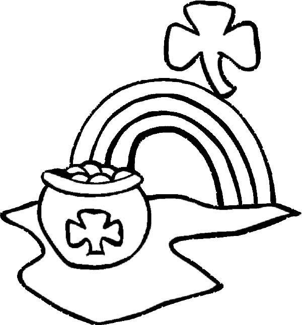 irish symbols coloring pages - photo#33