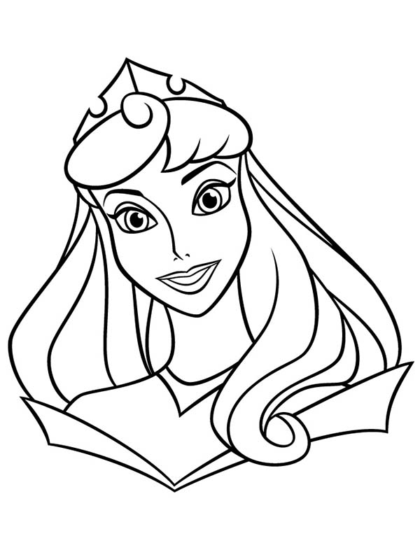 free printable aurora coloring pages - photo#35