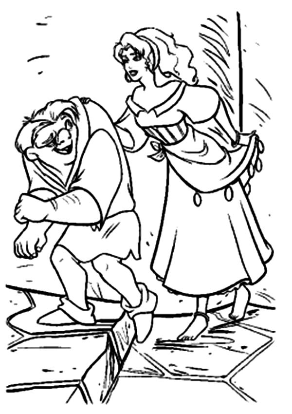 hunchback coloring pages - photo#44