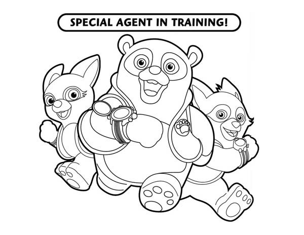 Special Agent Training In Special Agent Oso Coloring Page Download Print Online Coloring Pages For Free Color Nimbus