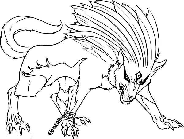 Super Wolf Coloring Page Download Print Online Coloring Pages