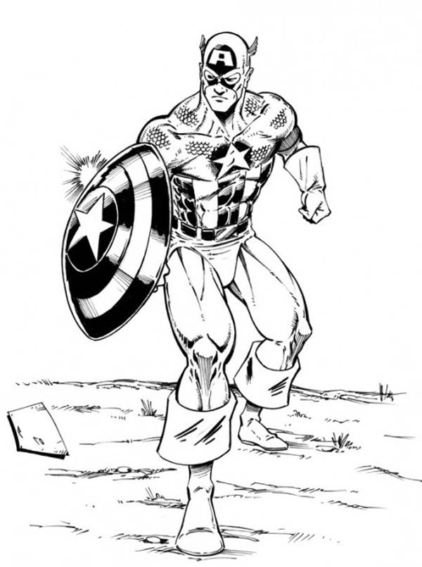The Avengers Character Captain