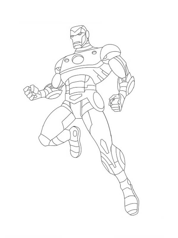 The Avengers Character Iron Man Coloring Page Download Print Online Coloring Pages For Free Color Nimbus