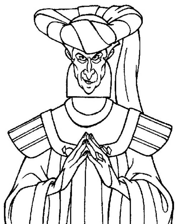 The Hunchback of Notre-Dame Coloring Pages   Disneyclips.com   756x600