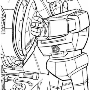 The Evil Decepticon Transformers Coloring Page