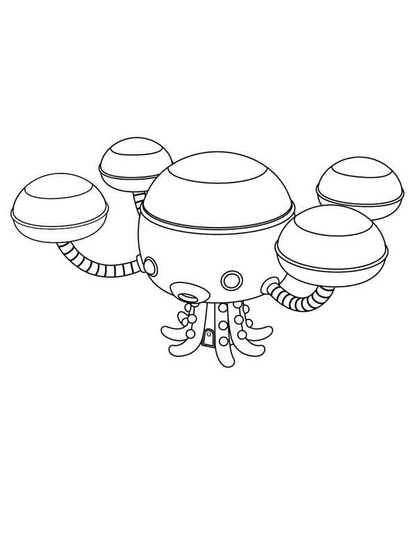 - The Octopod From The Octonauts Coloring Page - Download & Print Online Coloring  Pages For Free Color Nimbus
