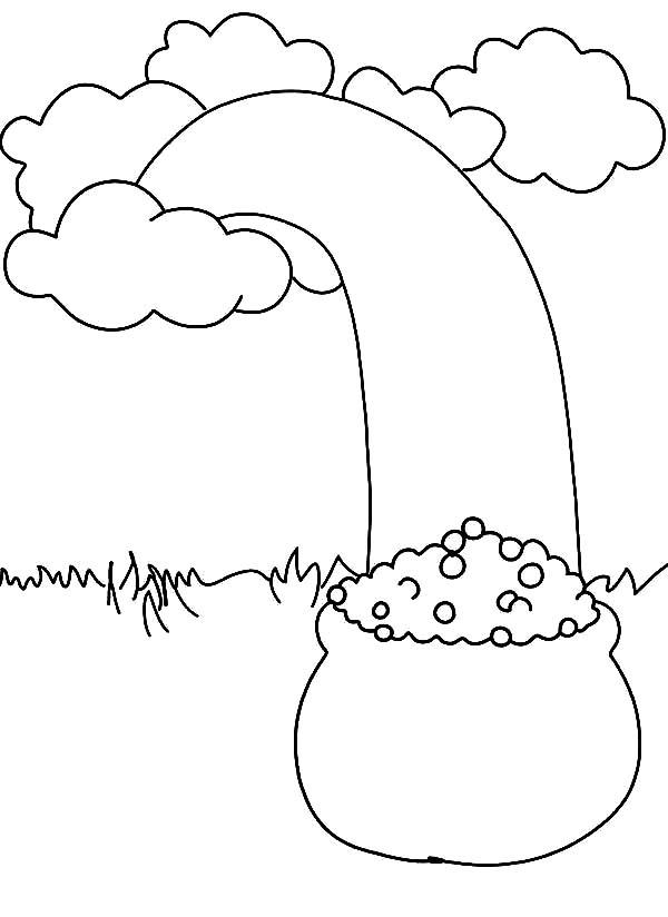 online leprechaun coloring pages - photo#34