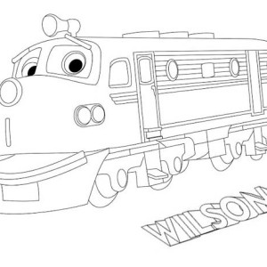 Wilson From Chuggington Coloring Page