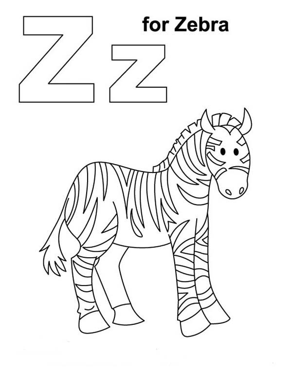 z for zebra coloring page download print online coloring pages for free color nimbus. Black Bedroom Furniture Sets. Home Design Ideas