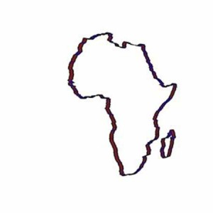 Africa Continent Outline In World Map Coloring Page