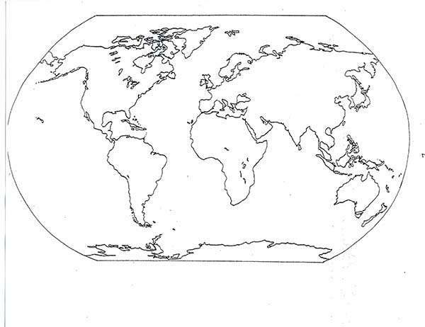 - All Countries World Map Coloring Page - Download & Print Online Coloring  Pages For Free Color Nimbus