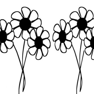 Daisy Flower Drawing Coloring Page