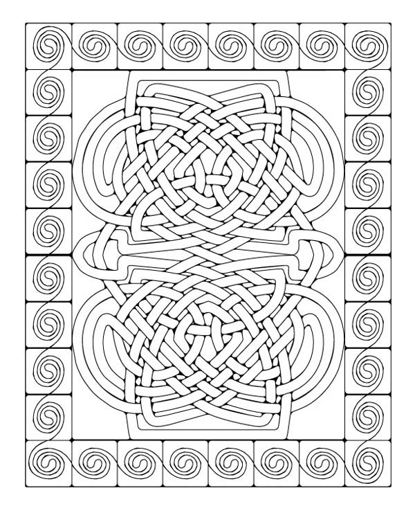 Mosaic Coloring Page Download Amp Print Online Coloring