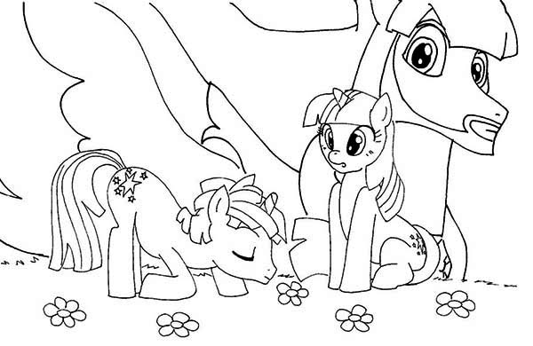 Pony My Little Poster Coloring Page PageFull Size