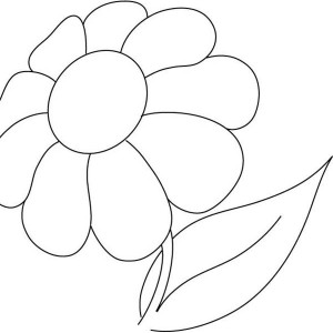 Pretty Picture Of Daisy Flower Coloring Page