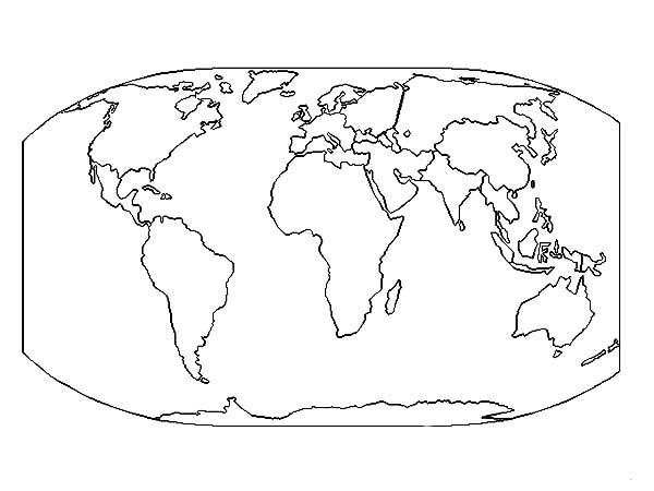 Very Detailed Coloring Pages On Images Free Download For: The Very Best World Map Coloring Page