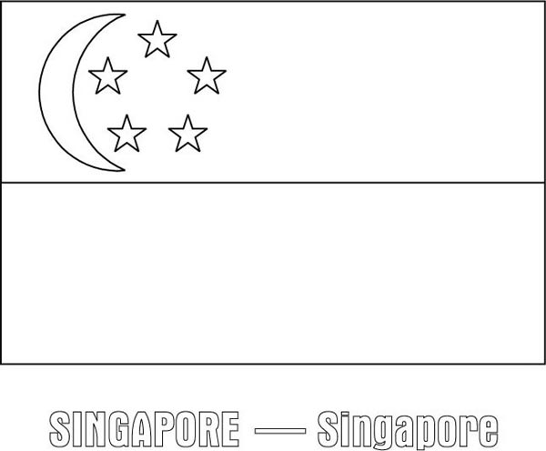 Nation Flag Of Singapore Coloring Page Download Print Online Coloring Pages For Free Color Nimbus