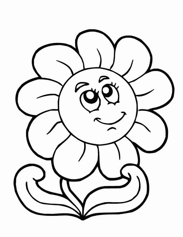 - Spring Flower On Springtime Coloring Page - Download & Print Online Coloring  Pages For Free Color Nimbus