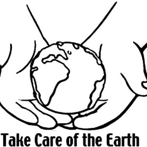 Take Care Of The Earth On Earth Day Coloring Page
